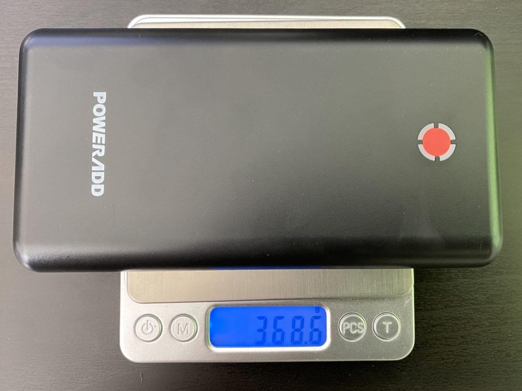 Poweradd Pilot X7_weight