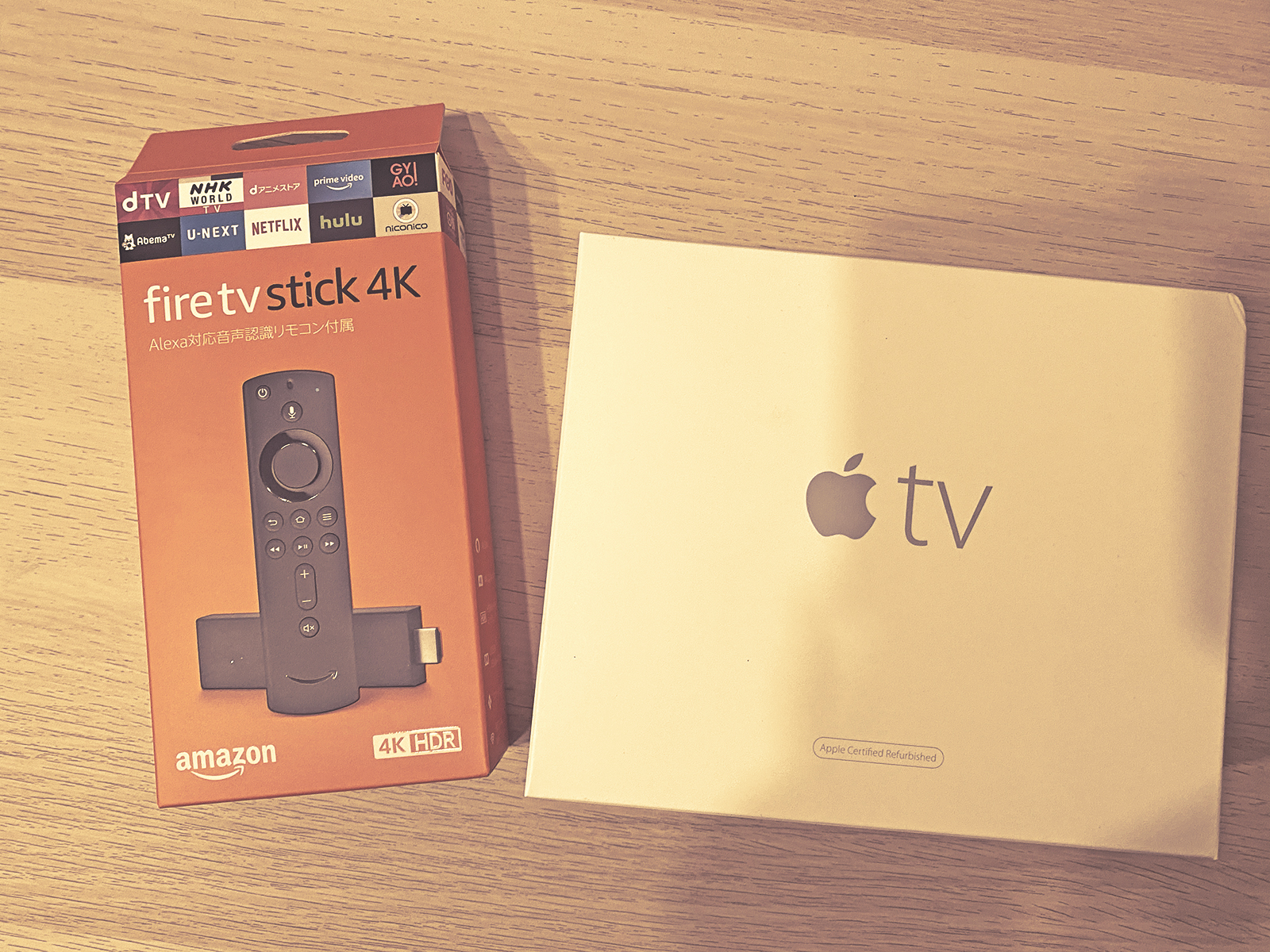 Apple TV or Fire TV Stick